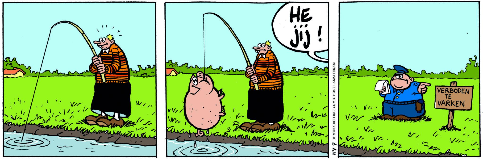 Dirkjan Verboden Te Varken Comichouse