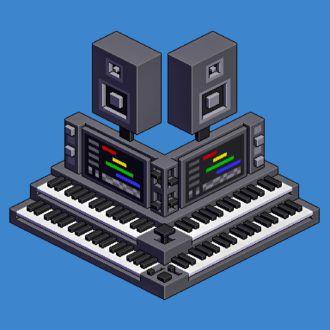 Keyboards-pixel-art-400-percent-scale-by-Metin-Seven
